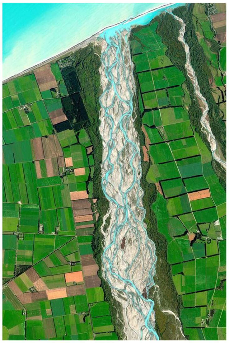 Braided River Wallpaper