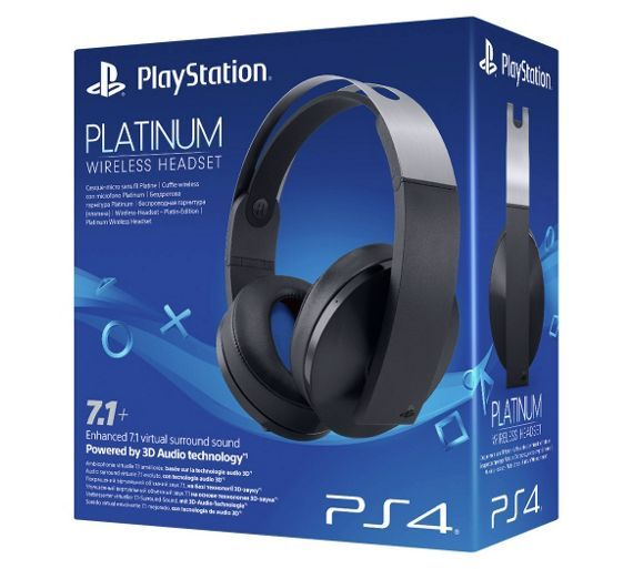 Sony Platinum Wireless Headset for PS4. £130