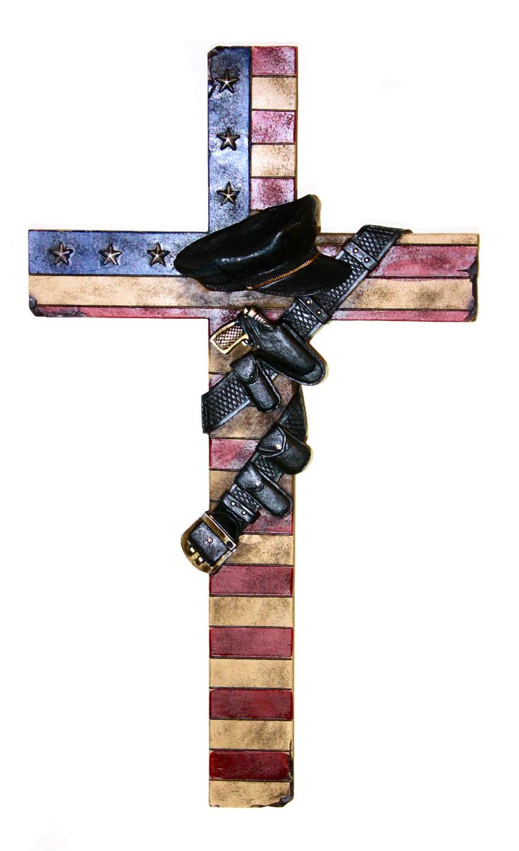 Cabin Decor - Wall Decor Honor your officers in blue. This is the perfect gift for your friends or family members that serve and protect. Shop all of our wall crosses in our Religious Collection! - Wa