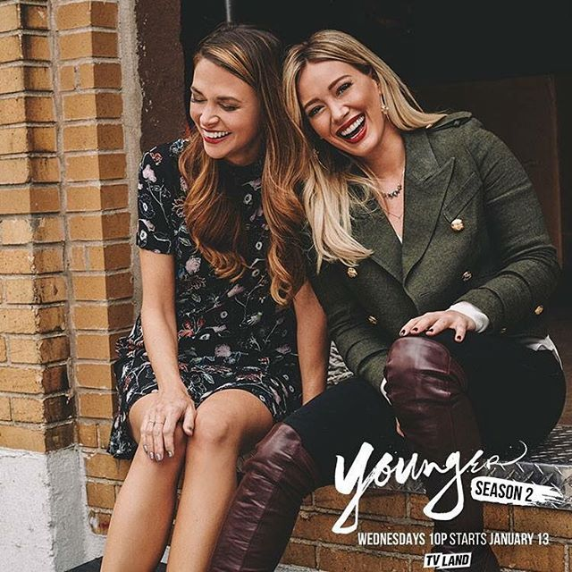 Thank goodness for friends to laugh with. Watch them in Younger Wednesdays. From the creator of Sex and the City, Younger stars Hilary Duff, Sutton Foster, Debi Mazar, Miriam Shor and Nico Tortorella. New episodes Wednesdays at 10/9C on TV Land. Click here to watch a preview!