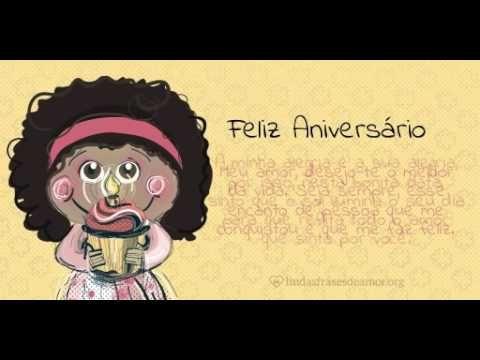 Feliz Aniversário - Menina Laranja