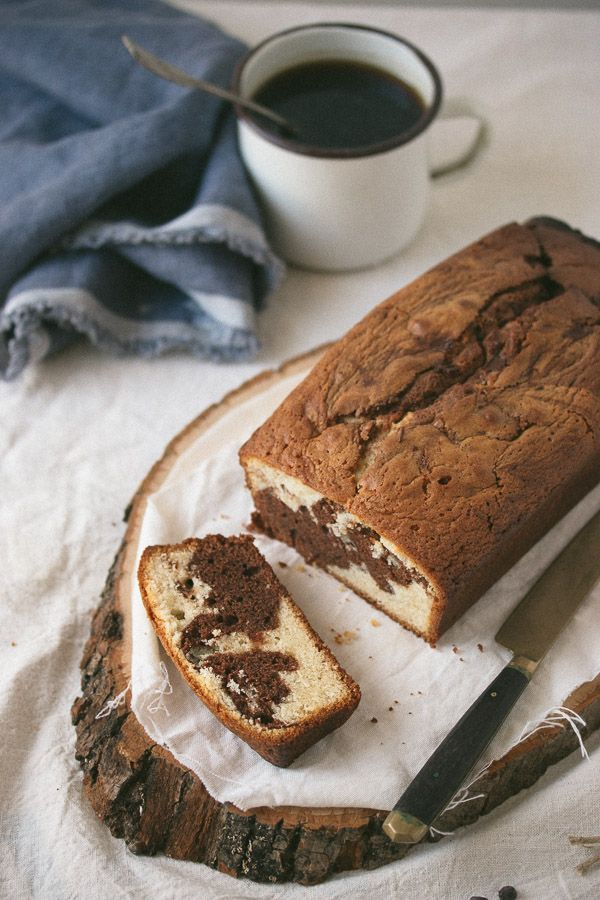 Easy  Chocolate and Vanilla Marble Cake
