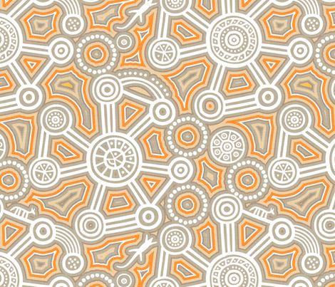 City Dreaming fabric by spellstone on Spoonflower - custom fabric
