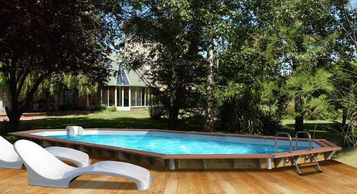 soldes piscine carrefour achat piscine bois premium water clip l 8 90 x l 4 20 x h 1 29 cm. Black Bedroom Furniture Sets. Home Design Ideas