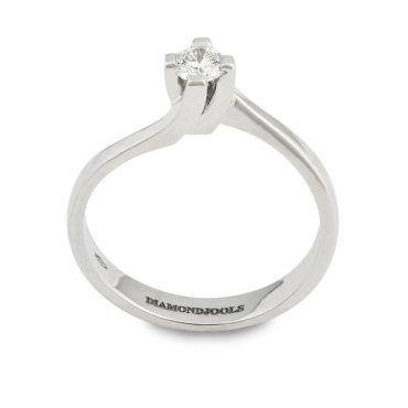 DIAMONDJOOLS μονόπετρο δαχτυλίδι λευκόχρυσο Κ18 με διαμάντι με διεθνές πιστοποιητικό   Μονόπετρα δαχτυλίδια ΤΣΑΛΔΑΡΗΣ στο Χαλάνδρι #διαμάντι #μονόπετρο #δαχτυλίδι #λευκόχρυσο #monopetro