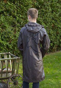 TRU-RAIN-Regenmantel-Friesennerz-braun-Elch-Raincoat-Regenjacke-2-Wahl