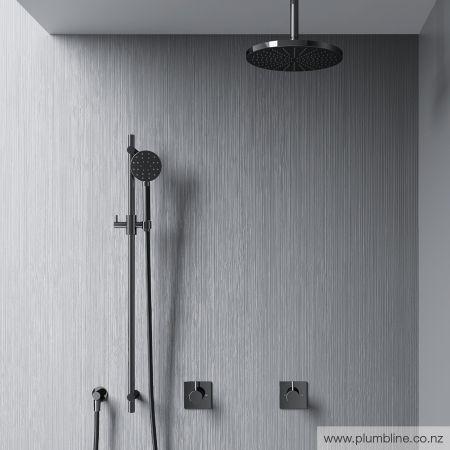 Buddy Round Slide Shower - Shower Tapware - Bathroom
