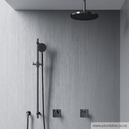 Buddy Round Slide Shower - Shower Tapware - Bathroom