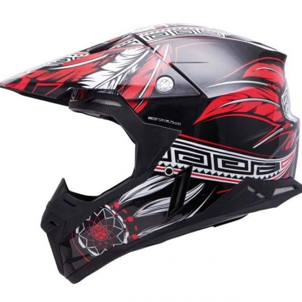 SYNRNY NATIVE GLOSS BLACK/RED/WHITE M (OFF ROAD-GPS) 069-535 POLYCARBON MT HELMET M - Google'da Ara