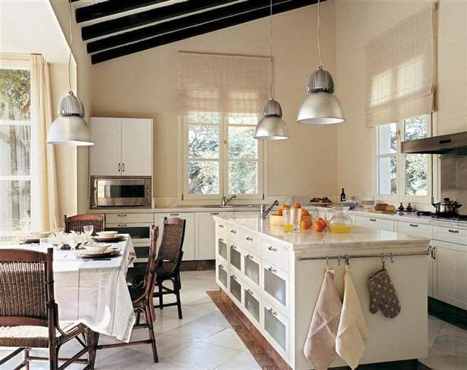 17 mejores ideas sobre cocinas blancas r sticas en for Cocinas rusticas blancas