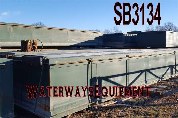 SB3134 - Used Sectional Barges For Sale