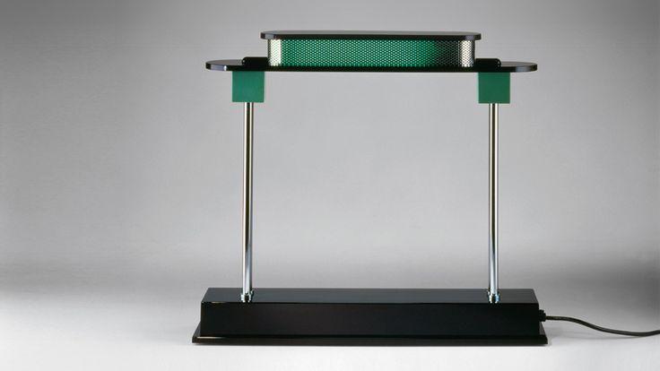 Artemide - #Pausania table lamp. #design Ettore Sottsass,