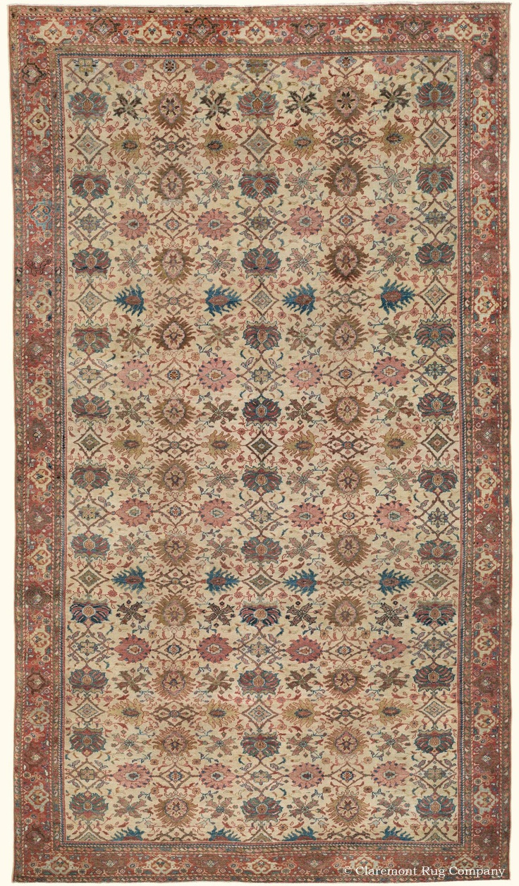 A Guide To Antique Persian Sultanabad Rugs From The Second Golden Age Of  Persian Weaving. Antique Sultanabad Carpets From Claremont Rug Company.