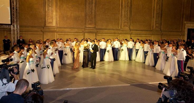GRAN BALLO VIENNESE DELLE DEBUTTANTI ROMA edizione 2012 – Roma (RM) - Palazzo Venezia – Eventi e spettacoli di danza