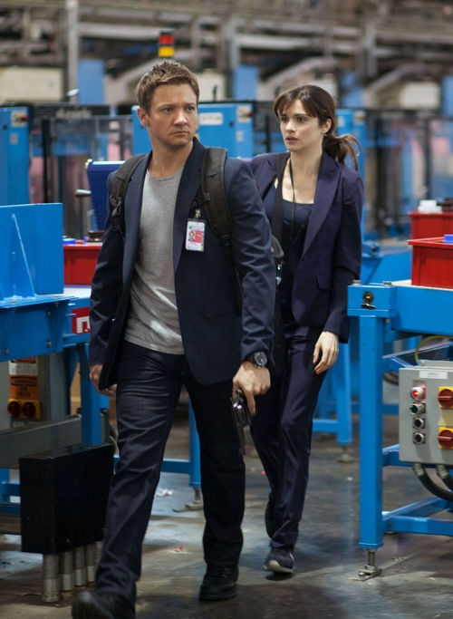 The Bourne Legacy.  Is it wrong to like the way he carries a gun?!?