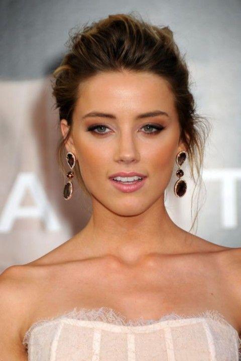 Amber Heard's beautiful makeup