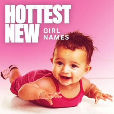 These trendy baby names are gaining popularity for girls.  Names that end in -ee, romantic name, gender-bending names, and more.
