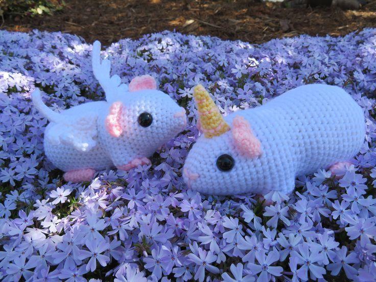 ♡ Amigurumi Meerschweinchen Rainbow ♡ Handmade ♡   552x736