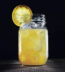 Arnold Palmer- Instead of unity candle, one person pours iced tea and the other pours lemonade into one glass to drink (plus its our favorite drink)!