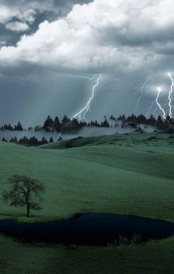 Lightning and Fog