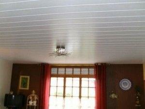 Les 25 meilleures id es de la cat gorie faux plafond au for Pose lambris pvc plafond sur rail
