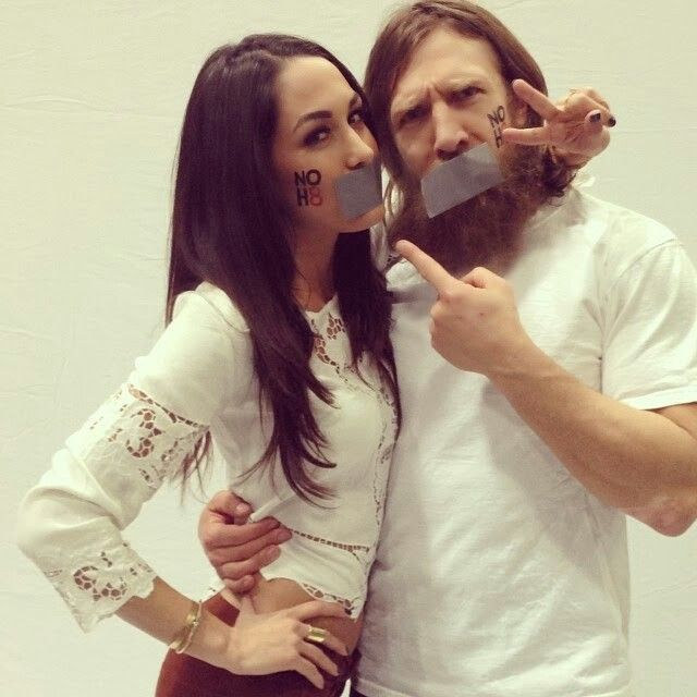 Brie and Daniel Bryan they are so darn cute together