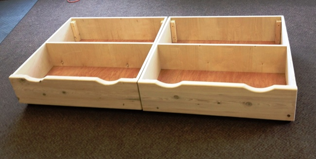 Under Bed Storage Ideas We Could Buy Wood To Make These