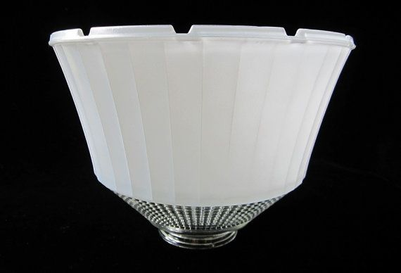 Torchiere Light Shade 8 Vintage National Home Lamp Light Shades Stiffel Glass Bowl