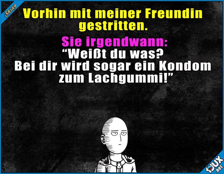 Autsch, der war unter der Gürtellinie! #Lachgummi #Kondom #klein #gemein #fies #Jodel #Sprüche #Statusbilder #WhatsAppStatus Humor