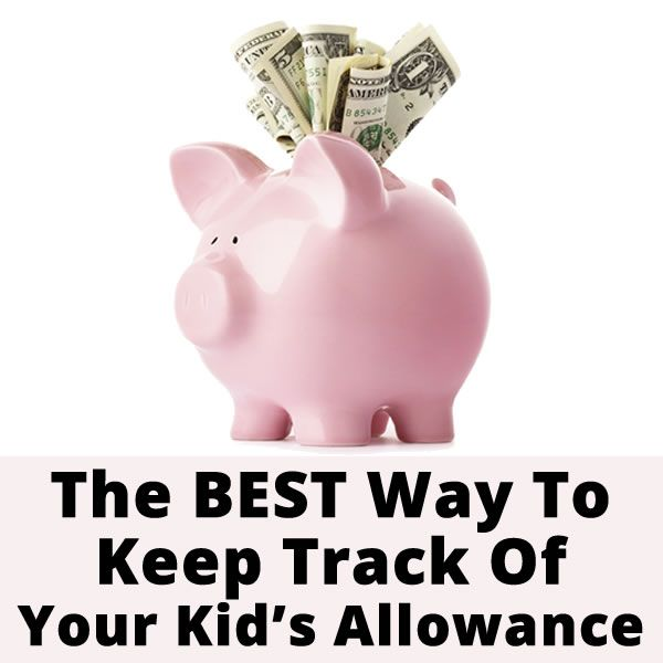 The best way to keep track of your kid's allowance