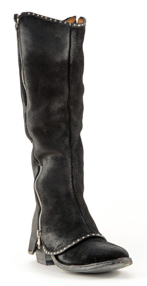 Womens Old Gringo Josefa Boots Black Style L1264-2 | Old Gringo | Allens Boots