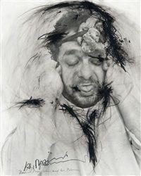 Stein im Hirn, Leben auf der Stirn Face Farces by Arnulf Rainer