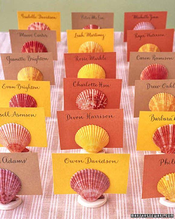 Think Smart Designs Blog: 30 Amazing Wedding Ideas On Place Card ...