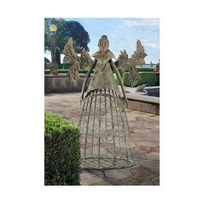 Design Toscano Tempest the Metal Garden Trellis Fairy & Reviews | Wayfair