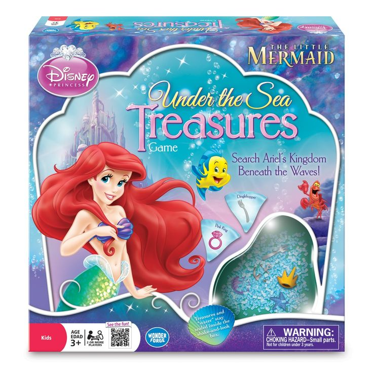 Disney Princess Under the SeaTreasures - Smyths Toys