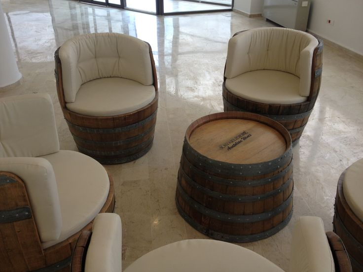 Love this idea of turning an old barrel into a nice and comfy seat! Want the same in my living room ;-)