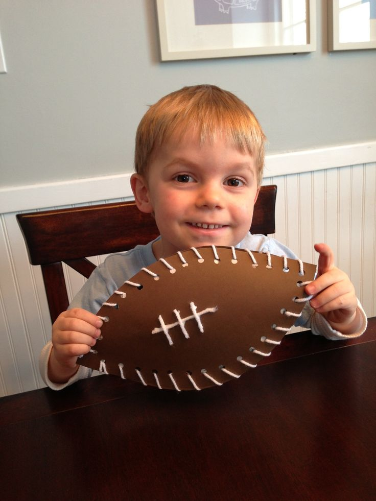 Are You Ready for some Football...Crafts?! #superbowl #crafts