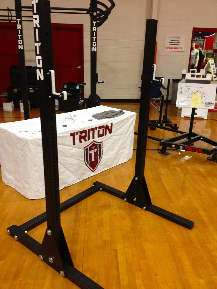 Triton Equipped — TRITON Rack complete with JCups At