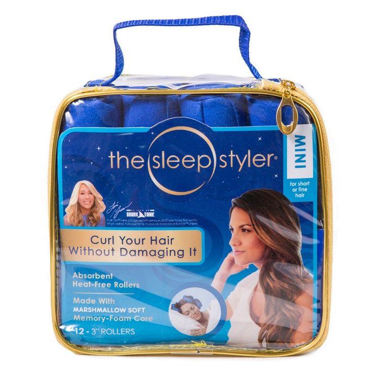 As Seen On TV Sleep Styler Hair Rollers Teal, Teal Mist