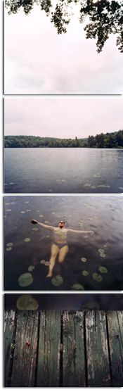 The best photography teacher I've ever had... Inspiration. David Hilliard. Susie Floating. 2003.