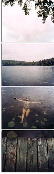 David Hilliard. Susie Floating. 2003.