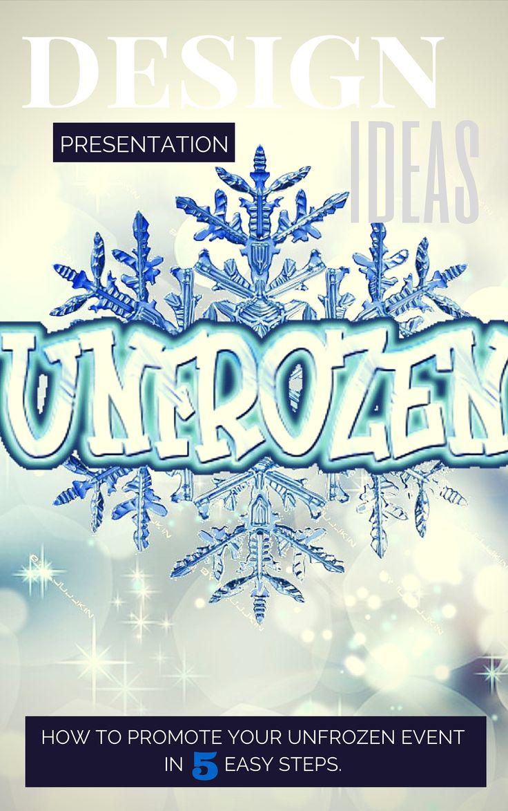 Creative ways to promote your Unfrozen Christmas program.