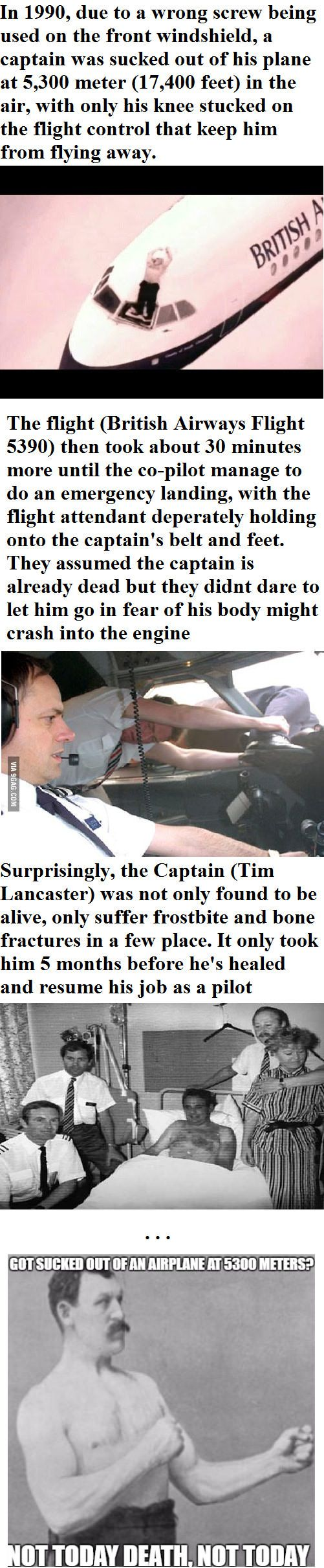 True story - British Airways Flight 5390 - 9GAG