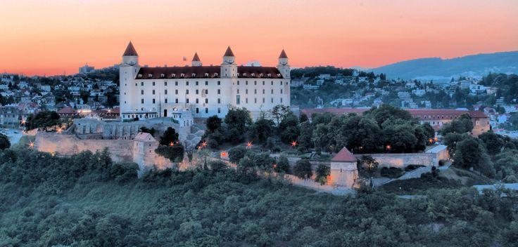 Bratislava castle by Miguel Rosa