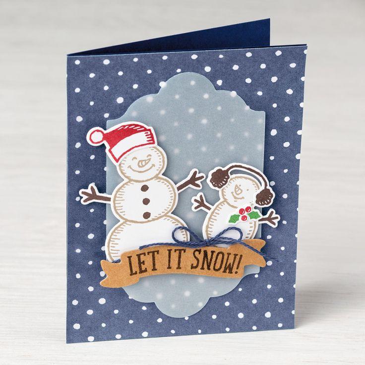 Es schneit! Photopolymer Stamp Set (German) by Stampin' Up!