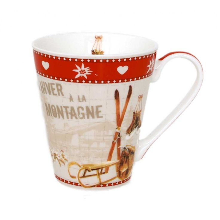 11 best vaisselle montagne images on pinterest dishes mugs and kitchen - Vaisselle style montagne ...