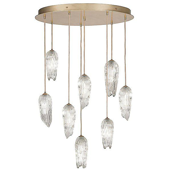 Las Olas Multi Light Pendant Light By Fine Art Handcrafted Lighting Color Clear Finish Glossy 91214 In 2021 Multi Light Pendant Pendant Lighting Pendant Light