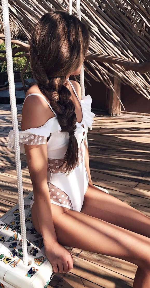 Swimsuit - do y'all do swim suits? I would be interested in all white clean suits if they were especially feminine and flattering. Just a thought.
