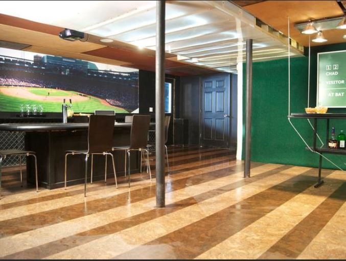 Man Cave With Projector : Pinterest the world s catalog of ideas