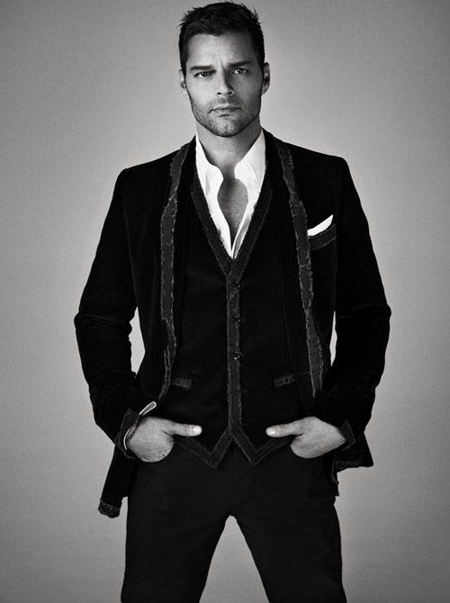 "Ricky Martin - Promo pic for his new album ""MAS - Musica Alma Sexo"""